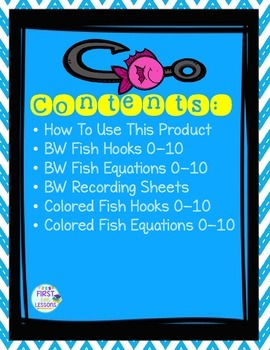 FishHook Facts: A Sorting Facts Activity for Addition and Subtraction to 10