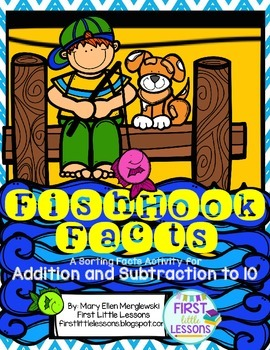 FishHook Facts: A Sorting Facts Activity for Addition and