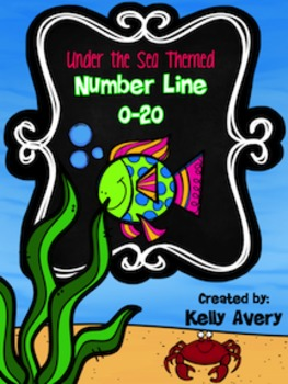 Ocean Themed Number Line