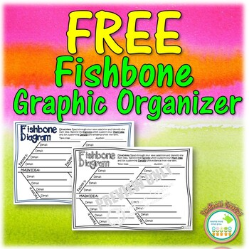 FREE Fishbone Graphic Organizer