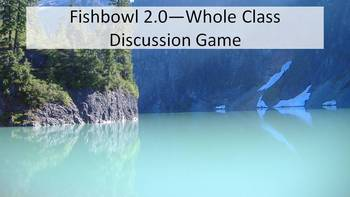 Fishbowl 2.0--Formative Whole Class, Student Led Discussion for Lit Circles