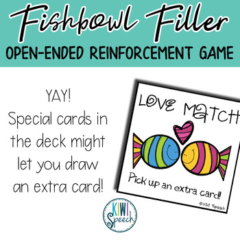 Fishbowl Builder: Open Ended Reinforcement Game: Great for Speech and Language