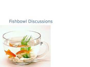 Fishbowl Discussion Student Instructions