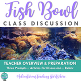 Fishbowl Discussions: Grades 9-12 & CCSS Aligned