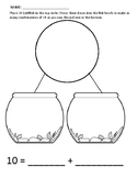 Fishbowl Number Bonds