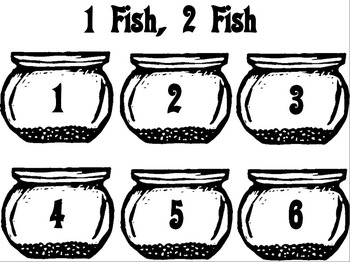 Fishbowl Number Recogntion Activity