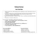 Fishbowl Seminar Protocol