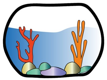 Fishbowl for Fishy Fish Clip Art