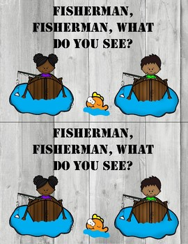 Fisherman, Fisherman What Do You See? Color Emergent Reader