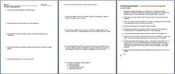 Fishes Homework Assignment 2