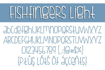 Fishfingers Font Family for Commercial Use