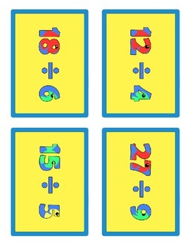 Fishin' Division: Basic Division Facts Game
