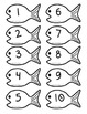 Fishin' For Numbers BW 1-10