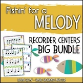 Fishin' For a Melody BUNDLE!  Recorder Improvisation Stations