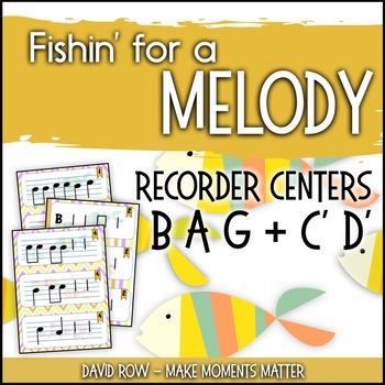 Fishin' For a Melody with high C' and high D'!  Recorder Improvisation Stations