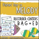 Fishin' For a Melody with low E low D! Recorder Improvisation Stations
