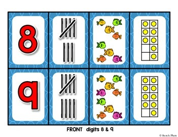 {A Go Fish! Number Sense Game} Fishin' for 10!