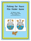Fishin' for Fours Folder Game - FULL COLOR