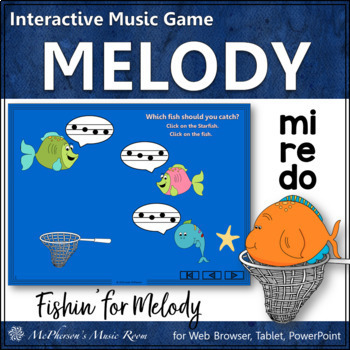 Music Game: Do Re Mi Interactive Melody Game {Fishin'}