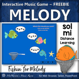 Distance Learning Music Game ~ Sol Mi Interactive Melody Game FREEBIE {Fishin'}