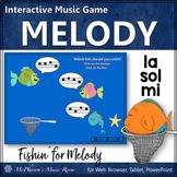 Music Game: Sol Mi La Interactive Melody Game {Fishin'}
