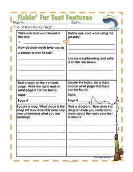 Fishin' for Non-Fiction Informational Text Bundle