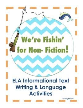 Fishin' for Non-Fiction Informational Text Bundle