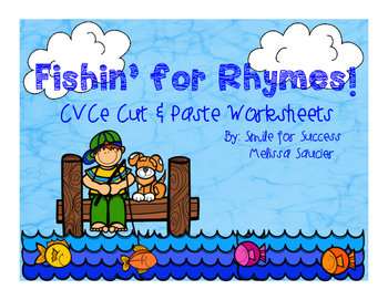 Fishin' for Rhymes {Silent E Printables}