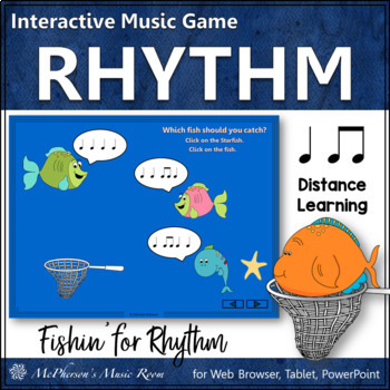 Fishin' for Rhythm (Eighth Notes & Quarter Notes) Interact