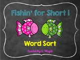 Fishin' for Short i Word Sort