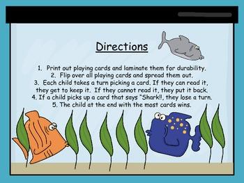 Fishin' for Sight Words: Reading Street Unit 1 Week 3