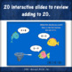 Fishin' for Sums 1 to 20 (Interactive Addition Game)