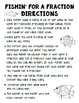Fishin' for a Fraction: Go Fish Fraction Game for Grades 3-5