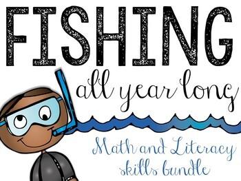 Fishing All Year: Math & Literacy Activities Bundle