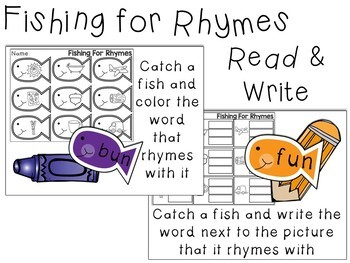 Fishing All Year: Math & Literacy Activities Bundle