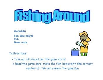 Fishing Around File Folder Game