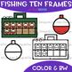 Fishing Clip Art - Fishing Tackle Box Ten Frames {jen hart Clip Art}