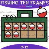 Fishing Clip Art - Fishing Tackle Box Ten Frames {jen hart
