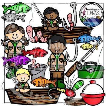 Fishing Clipart Bundle