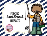 Fishing Book Report Template {use with any book}