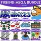 Fishing Dice Clip Art: Fishing Vest Dice 1-6 {jen hart Clip Art}