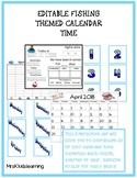 Fishing Editable Calendar Time