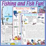 Fishing & Fish Fun – Vocabulary-rich Multi-puzzle Activity Pack
