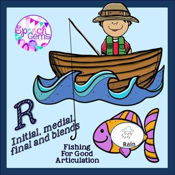 Articulation Fishing Game for R and R blends