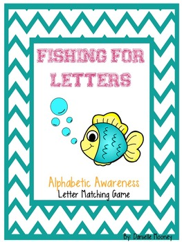 Fishing For Letters Alphabet Matching Game