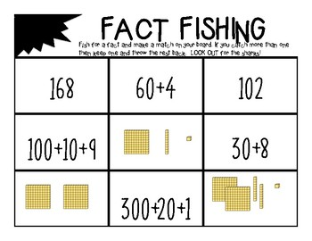 Fishing For Numbers {{Place Value}}
