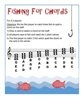 Fishing For Pitches AND Fishing For Chords BUNDLE PACK