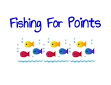 Fishing For Points Game Sign