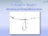 Fishing For Readers: Identifying and Writing Effective Hooks