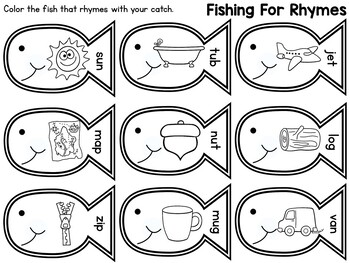 Fishing For Rhymes: Read & Write Edition